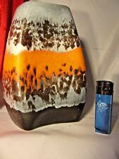 CLASSIC POP ART WGP DÜMLER & BREIDEN Orange Polar (RELIEF) Lava vase 20/20