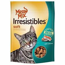 (6 Pack) Meow Mix Irresistibles Soft Salmon Treats for Cats 3 ounces