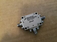 Magnum Microwave MC36P Balanced Mixer 4-12GHz RF LO IF SMA(f) FSCM 59277 #233