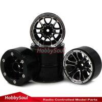 5pcs RC Aluminium Alloy 1.9 Beadlock Wheels Rims Fit 1.9 Rock Crawler Tires Tyre