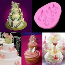 Butterfly Fondant Baking Mold Birthday Cake Decoration Mould Tool Mother's Gift