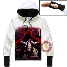 Anime Hellsing Alucard Pullover Jacket Cosplay Hoodie Unisex Coat#VH-1-67
