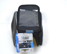 Bike Frame Bag with Cell Phone Holder Cycling Top Tube Storage Space