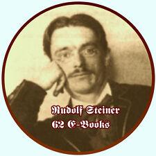 RUDOLF STEINER - 62  E-Books PDF