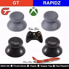 XBOX 360 Controller Pad Analog ThumbSticks RUBBER GRIP Thumb Stick GREY Or Black