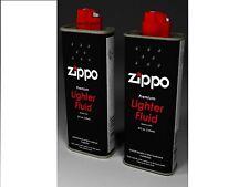 Zippo Premium Lighter Fluid 2 X  125ML low odour,fast ignition,clean burning