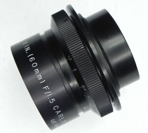 Carl Meyer Speed 60mm f1.5 Lens Head  #OE644