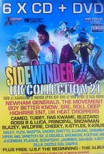 SIDEWINDER 21 - 6 X CD & DVD BOXSET - UK GARAGE BASSLINE HOUSE GRIME MC RAVE DJ