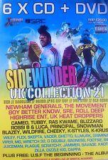 SIDEWINDER 21 - 6 X CD & DVD BOXSET - UK GARAGE BASSLINE HOUSE GRIME MC RAVE DJ