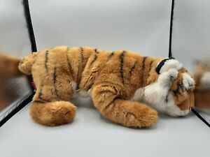 "FAO Schwarz 28"" Soft Plush Tiger Orange, Black, White Toys R Us #5F5F65D"