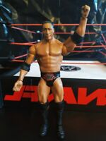 The Rock Basic PPV Series Mattel Wrestling Figure Flashback WWE PEOPLES CHAMPION