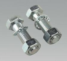 Sealey TB27 Tow Ball Bolts & Nuts M16 x 55mm Pack of 2
