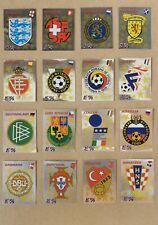 Rare!!! Complete set of Panini Euro 96 badges in excellent condition