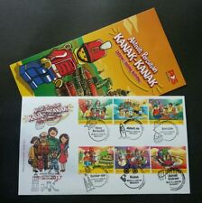 Malaysia Children's Holiday Activity Legoland 2017 Lego FDC *stamp week 9 chops