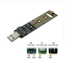 NVME M-key M.2 SSD External PCBA Adapter with Disk M7M6 GL USB to 3.0 Case F4V7