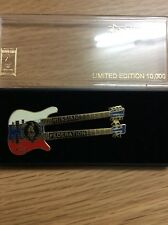 Atlanta Olympic Games Limited Edition Guitar Pin: Russian Federation Double Neck