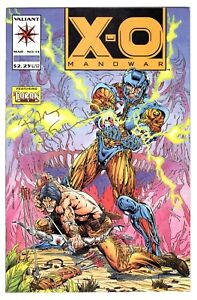 X-O Manowar #14 (Mar 1993, Acclaim / Valiant) NM- signed by Bart Sears