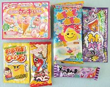 6 PCS SET Kracie popin cookin JAPANESE CANDY KIT ice cream, nerunerunerune