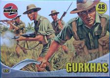AIRFIX Figurenset WWII British Gurkhas Nr.: 01754 1:72
