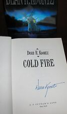 Cold Fire by Dean R. Koontz**Signed First Edition**HC/DJ ** 1 2 3 4 5 6 7 8 9 10
