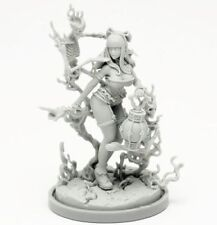 30mm Resin Kingdom Death Necromancer Variant Unpainted ONLY Figure WH291