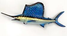 "Taxidermy Sailfish Wall Mount / Plaque 42"" Fish Replica"