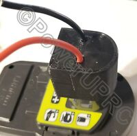 Ryobi One+ 18V MAX Li-ion Battery Converted to DIY Connection Output Adapter