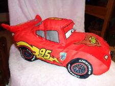 "Cars 2 Disney Red Piston Cup Hudson Hornet 95 stuffed plush 18"" pillow grandprix"
