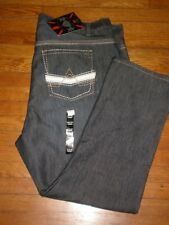 NWT LIONS CREST BY ENGLISH LAUNDRY STRAIGHT FIT JEANS SZ: 46 X 30 RETAIL $84.00