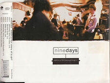 NINE DAYS Absolutely (Story Of A Girl) CD Single