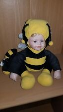 Bumble Bee Doll with Porcelain Face