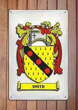 Mcbride Coat of Arms A4 10x8 Metal Sign Aluminium Heraldry Heraldic