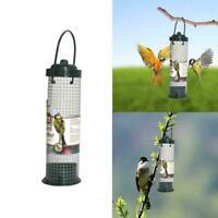 Hanging Plastic Green Safe Nontoxic Bird Feeder Outdoor Garden Decoration Y E4H6
