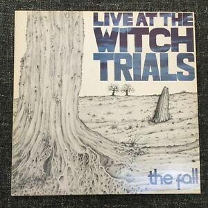 The Fall–Live At The Witch Trials – first press UK vinyl LP, 1979