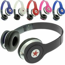 Foldable Stereo DJ Style Headphones Earphone Headset Over Ear MP3/4 IPOD