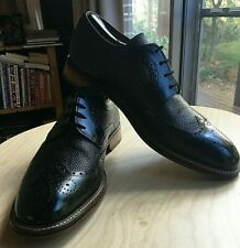 M&S LUXURY MENS BROGUE SHOES SIZE UK 9
