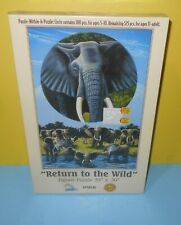 New SunsOut Elephant Jigsaw Puzzle Within A Puzzle - Return To The Wild 525 Pcs