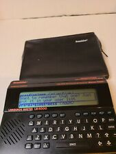 Franklin Language Master Lm4000 Talking Pronouncing Dictionary Thesaurus(ff)