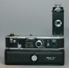 Nikon MD-1 motor drive + MB-1 Battery Pack for Nikon F2 camera - Nice Ex+!