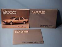 87 1987 Saab 9000 owners manual