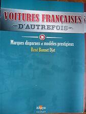 FASCICULE 26 VOITURES FRANCAISES AUTREFOIS RENE BONNET JET 1962