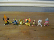 """Authentic Tomy Nintendo Pokemon C.G.T.S.J. 2"""" Mini PVC Figure Lot of 8 Some Rare"""