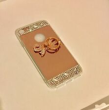 Luxury Bling Mirror case Bow-Rose Gold iPhone 7