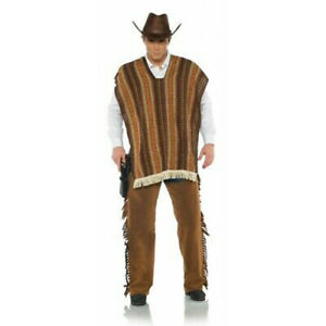 Cowboy Serape Cape Gunfighter Man with No Name Adult Halloween Costume Accessory