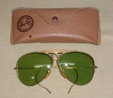 Pair Of Vintage Ray Ban Bausch & Lomb Aviator Sunglasses & Case