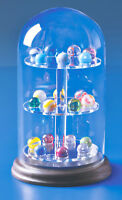 1 of Our Best Glass Domes Display Case For Porcelain Thimbles