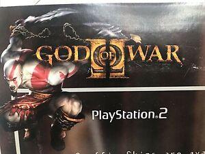 Gamer Graffix For PS2 Console God Of War Skin Removable/Reusable Playstation NOS
