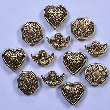 Boutons gogo vintage gold 4401-Victorien ANGELOTS robe it up