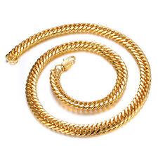 18K Gold GP Vintage Funky Men's Bracelet Gold