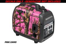 Decal Wrap For Honda EU2000i Skin Camping Generator Engine Sticker PINK CAMO